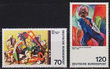 Buy GERMANY BUND [1974] MiNr 0822-23 ( **/mnh ) Gemälde