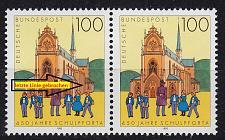 Buy GERMANY BUND [1993] MiNr 1675 F17 ( **/mnh ) [01] Plattenfehler