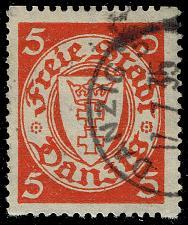 Buy Danzig #170d Coat of Arms - Coil; Used (3Stars) |DAN170d-01XRS