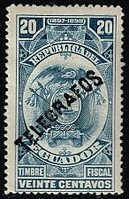 Buy Ecuador Telegraph Stamp; Unused (3Stars) |ECULOT-19XRS
