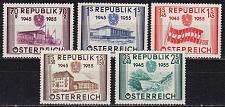 Buy ÖSTERREICH AUSTRIA [1955] MiNr 1012-16 ( **/mnh )