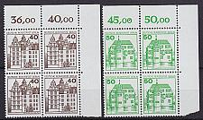 Buy GERMANY BERLIN [1980] MiNr 0614-15 4er or ( **/mnh ) Burgen Schlösser