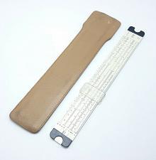 Buy Dietzen No. 1767 Slide Rule National Maniphase Leather Sheath Vintage