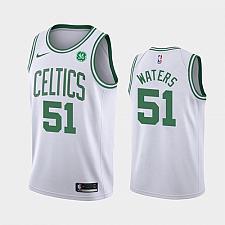 Buy Men's Boston Celtics #51 Tremont Waters White Association Jersey