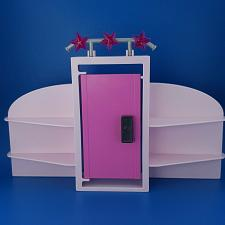 Buy Playmobil Fashion Store 9113 Pink Fitting Dressing Room Mall Store Wall Display