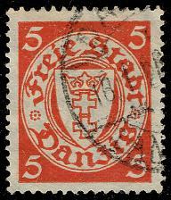 Buy Danzig #170 Coat of Arms; Used (3Stars) |DAN170-03XRS
