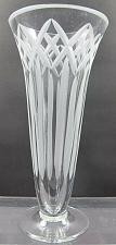 Buy Hand cut crystal vase frosed cutting