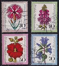 Buy GERMANY BUND [1974] MiNr 0818-21 ( O/used ) Blumen