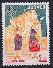 Buy MONACO [1981] MiNr 1474 ( **/mnh ) CEPT