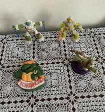 Buy Four 2018 Viacom Teenage Mutant Turtles McDonalds Happy Meal Toys For Charity