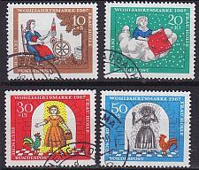 Buy GERMANY BUND [1967] MiNr 0538-41 ( O/used )