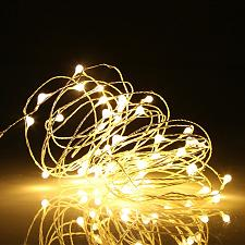 Buy Ehome 100 LED 33ft/10m Starry Fairy String Light, Waterproof Decorative Copper