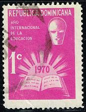 Buy Dominican Rep. #RA48 International Education Year; Used (1Stars) |DORRA048-03XRS