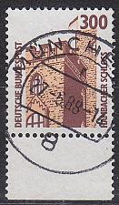Buy GERMANY BUND [1988] MiNr 1348 ( O/used ) [01] Bauwerke Bogenrand