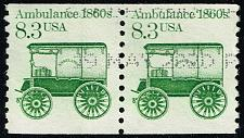 Buy US #2128 Ambulance Pair; Used (2Stars) |USA2128-02
