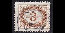 Buy ÖSTERREICH AUSTRIA [Porto] MiNr 0003 E ( O/used )