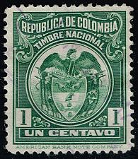 Buy Colombia Revenue Stamp; Used (4Stars) |COLLOT-04XRS