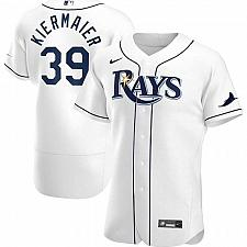Buy Kevin Kiermaier Tampa Bay Rays White Home Authentic Player Jersey