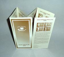 Buy Year Circular 2004 of Stamps from Albania. Rare booklet in English language.