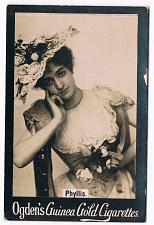 Buy Ogden's Guinea Gold Cigarettes Tobacco Card Phyllis Vintage