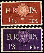 Buy IRLAND IRELAND [1960] MiNr 0146-47 ( **/mnh ) CEPT