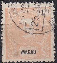 Buy MACAU MACAO [1898] MiNr 0079 A ( O/used )