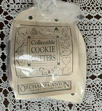 Buy Brand New Orchard Canyon Hand Crafted Dog Tin Cookie Cutter 4 Dog Rescue Charity