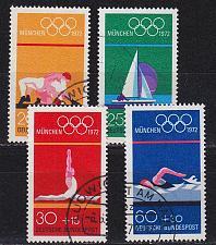 Buy GERMANY BUND [1972] MiNr 0719-22 ( O/used ) Olympiade
