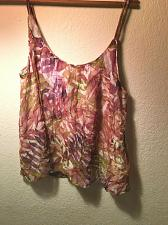 Buy Lucky Brand Palm Leaf Top Lined Women`s M New With Tags