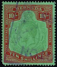 Buy Bermuda #96a King George V; Used (1Stars) |BER0096a-01XVK