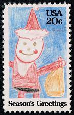 Buy US #2108 Santa Claus; Used (4Stars)  USA2108-11
