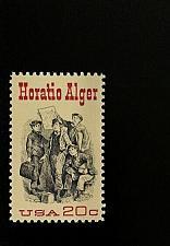 Buy 1982 20c Horatio Alger, Newspaper Scott 2010 Mint F/VF NH