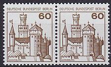 Buy GERMANY BERLIN [1977] MiNr 0537 2er ( **/mnh ) Burgen Schlösser