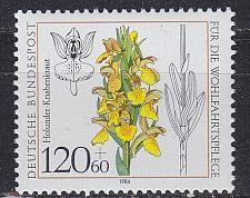 Buy GERMANY BUND [1984] MiNr 1228 ( **/mnh ) Blumen