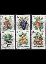 Buy ÖSTERREICH AUSTRIA [1966] MiNr 1223-28 ( O/used ) Pflanzen