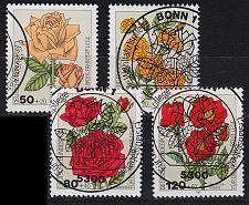 Buy GERMANY BUND [1982] MiNr 1150-53 ( O/used ) Blumen