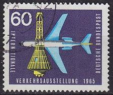 Buy GERMANY BUND [1965] MiNr 0473 ( O/used ) Flugzeuge
