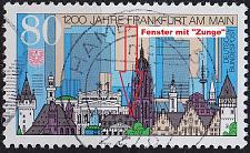 Buy GERMANY BUND [1994] MiNr 1721 F2,I ( O/used ) [01] Plattenfehler