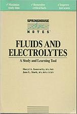 Buy Fluids and Electrolytes by Stark and Innerarity Book For Cocker Spaniel Charity