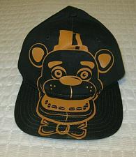 Buy Boy's Youth Five Nights at Freddys Baseball Hat Cap Black