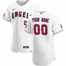 Buy Los Angeles Angels White Home Authentic Custom Jersey