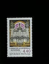 Buy 1994 France Organ, Poitiers Cathedral Scott 2433 Mint F/VF NH