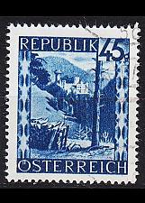Buy ÖSTERREICH AUSTRIA [1945] MiNr 0759 ( O/used ) Landschaft