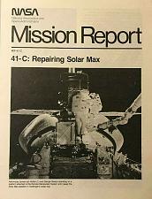 Buy 41-C: Repairing Solar Max Mission Report NASA Space Shuttle MR-41-C Original