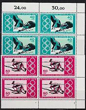 Buy GERMANY BUND [1976] MiNr 0886-87 4er ( **/mnh ) [01] Olympiade