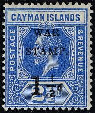 Buy Cayman Islands #MR1 War Tax; Unused (2Stars) |CAYMR1-01XDP