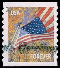 Buy US #4770 Flag in Autumn; Used (4Stars)  USA4770-02