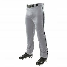 Buy Champro Baseball Pants Open Bottom Loose Fit Gray Navy Pipe Youth Size L