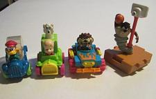 Buy 1993 Looney Tunes Taz & Quack Up Cars Lot McDonalds Happy Meal Toys