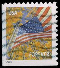 Buy US #4784b Flag in Autumn; Used (3Stars) |USA4784b-02